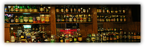 Great Drinks, Over 100 Imported Beer Selections